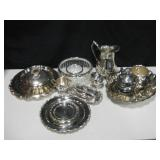 Silver Plated Serving Dishes - Bowls, Trays, etc