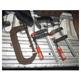 Lot of Cast Iron Clamps