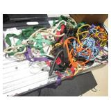 Box Lot of Ropes & Elastic Cords