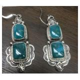 Vintage S.S. Navajo Eula Wylie Earrings