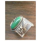Vintage S.S. Navajo Cerrillos TurQuoise Ring