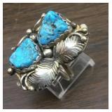 Vintage Sterling Silver & Utah Turquoise Ring