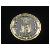 US Air Force Medical Service 2000 Challenge Coin