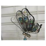 "40"" Tall Butterfly Wind Chime"