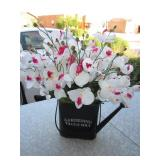"""Gardening Tills The Soul"" 19"" Metal Watering Can"