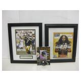 Pittsburgh Steelers - Framed Photo, Mag & Plaque