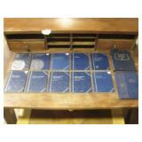 Lot Of Assorted Whitman Coin Collecting Albums