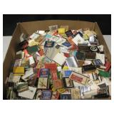 Large Box Of Vintage Advertising Match Books