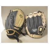Wilson & Louisville Slugger Baseball Gloves