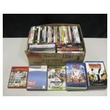 Lot Of DVD Films & Game System Games