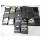 Lot Of Vtg Coleco Game Cartridges