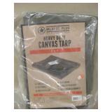 NIP Milspec Plus Heavy Duty Canvas Tarp 5