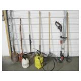 Yard Tools, Sprayers, Trimmer, etc...