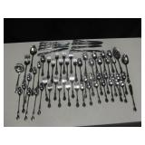 4 Boxes Vtg Chateau By Oneida Stainless Flatware