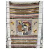 "45"" x 76"" Central American Woven Blanket"