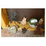 Collection Of Mice , Frogs & Snail Figures
