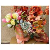 Spring Colored Cowboy Boot Floral Arrangements