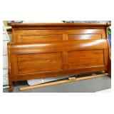 King Size Cherrywood Sleigh Bed