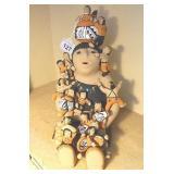 """Vtg Teresita Ortiz 11.5"""" Tall Story Teller Doll"""
