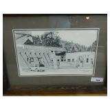 Charles Csesznegi Ruidoso Lodge Print