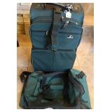 "23"" Samsonite Rolling Luggage & Converse Gym Bag"