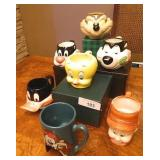 Vintage Looney Tunes Mug Collection