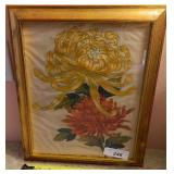 Original Painting On Fabric