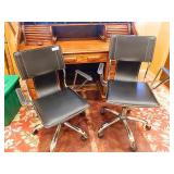 Avenue Six Dorado Leather Office Chairs Lot Of 2