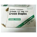 Crown Staples Full Box & More