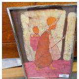 Framed Batik Art