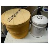 2 Cheese Boxes & Humidor
