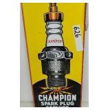 Enamel Champion Spark Plug Sign