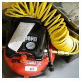Central Pneumatic 100PSI Pancake Compressor