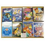 8 Original Disney DVD Movies