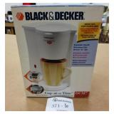 New Black & Decker Cup At A Time Coffee Maker