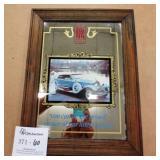"Rolls Royce Wall Mirror 13x10"""