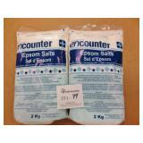 2 - 2KG Bags Epson Salts