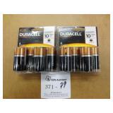 2 Packs Duracell C Batteries 4/Pack