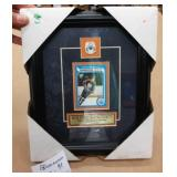 Wayne Gretzky Framed Reproduction Rookie Card