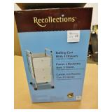 Recollections Rolling Cart w/3 Drawers