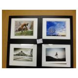 "4 13x16"" Framed Prints"
