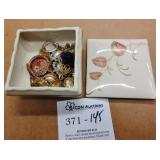 Royal Germany Jewelry Box & Costume Jewelry