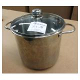 Stainless Steel 15Qt Stock Pot w/Lid