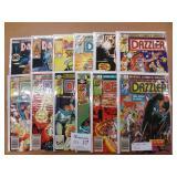 12 Vintage Dazzler Comics