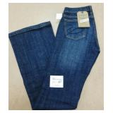 New Stetson Ladies Size  0 Long Jeans