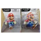 2 World of Nintendo Collectible Mario Figures