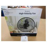 "Mainstays 9"" High-Velocity Fan"