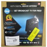 Clear TV HDTV Digital TV Antenna