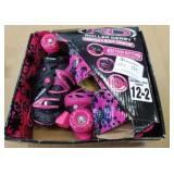 Roller Derby Girl Adjustable Size12-2 Rollerskates