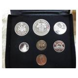Royal Mint 1971 Canada Coin Set